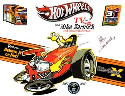 31st Collectors Convention Autograph Sheets | Posters & Prints | Hot Wheels 31st Annual Collectors Convention Mike Zarnock