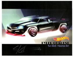 31st Collectors Convention Autograph Sheets | Posters & Prints | Hot Wheels 31st Annual Collectors Convention Tyler Charest - Solid Muscle