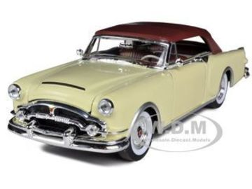 1953 Packard Caribbean (Soft-Top Closed) | Model Cars