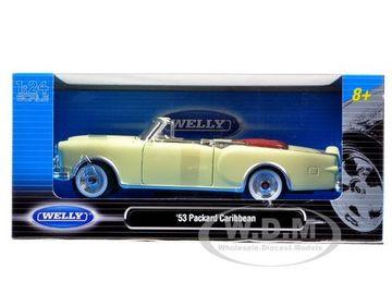 1953 Packard Caribbean (Convertible Open) | Model Cars