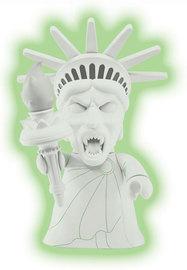 Statue of Liberty Weeping Angel (Glow in the Dark) | Vinyl Art Toys