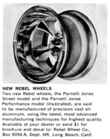 New Rebel Wheels | Print Ads