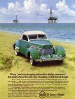 When Cord Was Changing Automotive Design, Our Round Top-And-Bottom Threads Were Changing Casing Thread Design. | Print Ads
