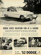 Dodge Gives Vacation Fun At A Saving | Print Ads
