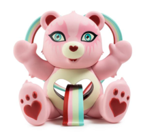 Tenderheart Bear Art Figure | Vinyl Art Toys