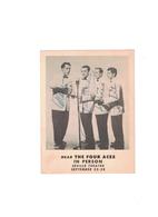 The Four Aces 1950's Autographed Photo | Posters & Prints