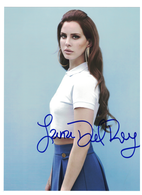 """Lana Del Ray--""""Video Games"""" Autograph with C.O.A. 