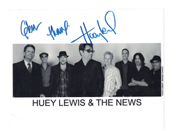 Huey Lewis and the News--Autograph | Posters & Prints