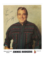 """Jimmie Rogers """"Honeycomb"""" Autographed Photo 