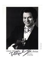 Itzhak Perlman Autographed Photo | Posters & Prints