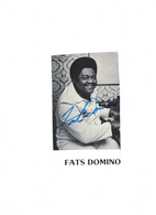 Fats Domino Signed Autograph | Posters & Prints