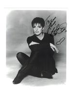 Liza Minelli Signed Autograph | Posters & Prints