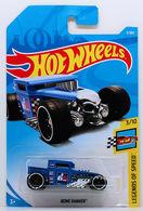 Bone Shaker | Model Trucks | HW 2018 - Collector # 003/365 - Legends of Speed 3/10 - Bone Shaker - Blue - International Long Card