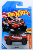 Ram 1500 | Model Trucks | HW 2018 - Collector # 010/365 - HW Hot Trucks 5/10 - RAM 1500 - Red - International Long Card