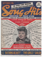 Frances Langford---Sept 1944 Autographed Song Hits Magazine | Posters & Prints