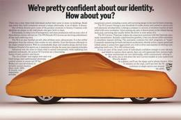 We're Pretty Confident About Our Identity. How About You? | Print Ads