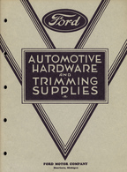 Ford Automotive Hardware & Trimming Supplies | Books
