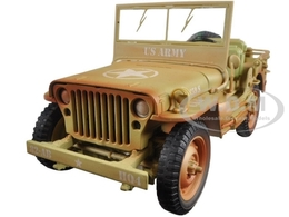 US Army WWII Jeep - Desert Color Weathered | Model Trucks