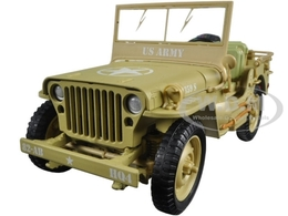 US Army WWII Jeep - Desert Color | Model Trucks