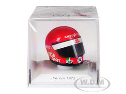 Helmet: Niki Lauda - Ferrari 1975 | Miniature Sports Equipment