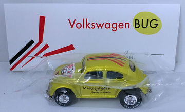 Volkswagen Bug   Model Cars   HW 2016 - 30th Annual Hot Wheels Convention - Make-A-Wish Charity Car - Volkswagen Bug - Special Edition Collectors Car - Antifreeze - Baggie Code 3