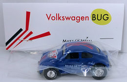 Volkswagen Bug | Model Cars | HW 2016 - 30th Annual Hot Wheels Convention - Make-A-Wish Charity Car - Volkswagen Bug - Special Edition Collectors Car - Blue - Baggie Code 3
