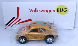 Volkswagen Bug | Model Cars | HW 2016 - 30th Annual Hot Wheels Convention - Make-A-Wish Charity Car - Volkswagen Bug - Special Edition Collectors Car - Gold - Baggie Code 3