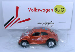Volkswagen Bug | Model Cars | HW 2016 - 30th Annual Hot Wheels Convention - Make-A-Wish Charity Car - Volkswagen Bug - Special Edition Collectors Car - Orange - Baggie Code 3