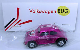 Volkswagen Bug | Model Cars | HW 2016 - 30th Annual Hot Wheels Convention - Make-A-Wish Charity Car - Volkswagen Bug - Special Edition Collectors Car - Pink - Baggie Code 3