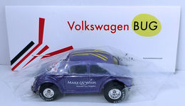 Volkswagen Bug | Model Cars | HW 2016 - 30th Annual Hot Wheels Convention - Make-A-Wish Charity Car - Volkswagen Bug - Special Edition Collectors Car - Purple - Baggie Code 3