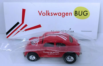 Volkswagen Bug | Model Cars | HW 2016 - 30th Annual Hot Wheels Convention - Make-A-Wish Charity Car - Volkswagen Bug - Special Edition Collectors Car - Red - Baggie Code 3