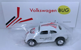 Volkswagen Bug | Model Cars | HW 2016 - 30th Annual Hot Wheels Convention - Make-A-Wish Charity Car - Volkswagen Bug - Special Edition Collectors Car - White - Baggie Code 3
