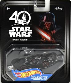 Darth Vader | Model Cars | Hot Wheels Star Wars Darth Vader 40th