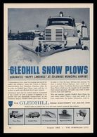 "Gledhill Snow Plows Guarantee ""Happy Landings"" At Columbus Municipal Airport | Print Ads"