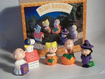 Peanuts Pumpkin Patch | Figure & Toy Soldier Sets