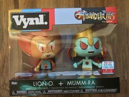 Funko Vynl ThunderCats Classic Lion-O + Mumm-Ra (2 Pack) - NYCC 2017 Limited Edition | Vinyl Art Toys