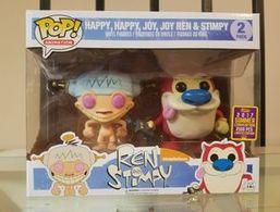 Happy, Happy, Joy, Joy Ren & Stimpy (2-Pack) [Summer Convention] | Vinyl Art Toys