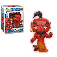 Red Jafar (As Genie) (Glow in the Dark)   Vinyl Art Toys