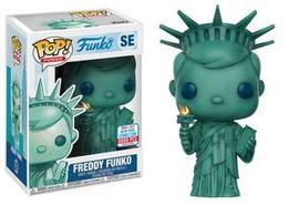 Freddy Funko (Statue of Liberty) [NYCC]   Vinyl Art Toys