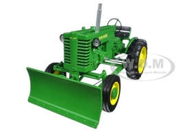 John Deere Model M Tractor with Blade | Model Farm Vehicles & Equipment