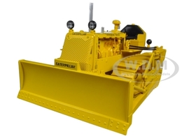Caterpillar D4 7U Crawler with 4S Blade and #44 Hydraulic Unit | Model Construction Equipment