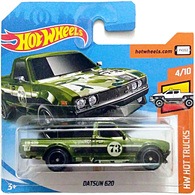 Datsun 620 | Model Trucks | International short card (front)