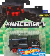 Spider | Model Trucks | Hot Wheels Minecraft Character Cars Spider
