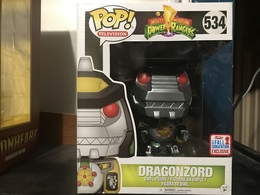 NYCC Dragon Zord | Action Figures
