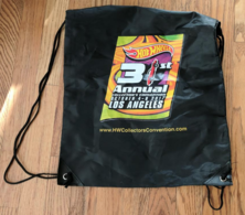 31st Hot Wheels Convention Drawstring Bag | Whatever Else