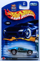 Side Kick | Model Cars | HW 2002 - Collector # 105/240 - Red Lines Series 3/4 - Side Kick - Blue - 1968-2003 Anniversary Card