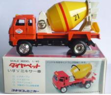 Isuzu Cement Truck | Model Trucks