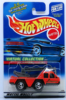 Flame Stopper  | Model Trucks | HW 2000 - Collectors # 113/250 - Virtual Collection - Flame Stopper - Orange - USA 'Square' Card