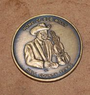 Bob Wills - Hall County Medallion | Whatever Else | Medallion - front