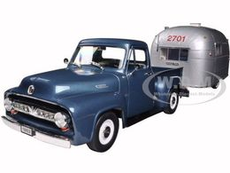 1953 Ford F-100 Pickup with Camper Trailer | Model Trucks